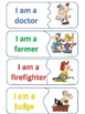 Matching Game - Occupations / Jobs