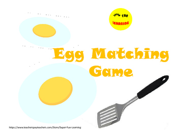 Matching Game - Shapes and Numbers