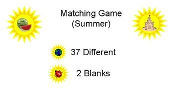 Matching Game (Summer)