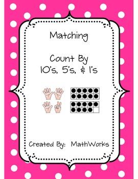 Matching Game (Ten Frames & Fingers)