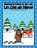 Matching Game to use with Un Dia de Nieve by: Ezra Jack Keats