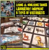 Matching Games: Living vs. Nonliving things, Laboratory Eq