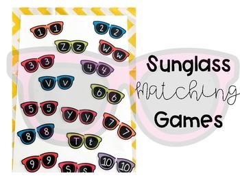 Matching Games: Sunglass Theme