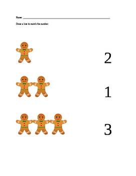Matching Gingerbread Men