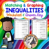 Matching Graphing Inequalities Match Inequality with Graphed Inequality with KEY