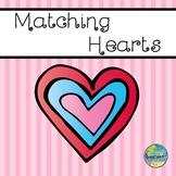 Matching Hearts--File Folder Game