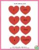 Matching Hearts Valentine's Day Printable Spanish Game