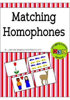 Matching Homophones