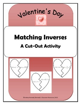 Matching Inverses - A Valentine's Day Activity