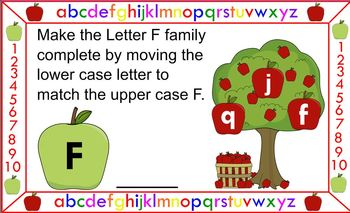 Matching Letter Families