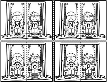 Matching Letter Swings - Letter Identification