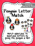 {Freebie} Letter Matching: Uppercase and Lowercase - Penguins in Hats