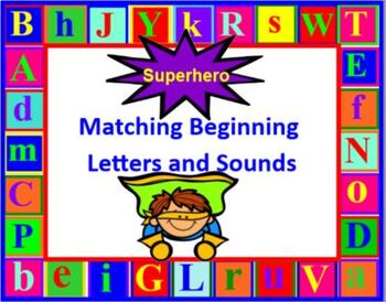Matching Letters and Sounds