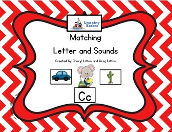 Matching Letters to Sounds Mouse Theme