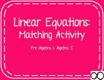 Matching Linear Forms
