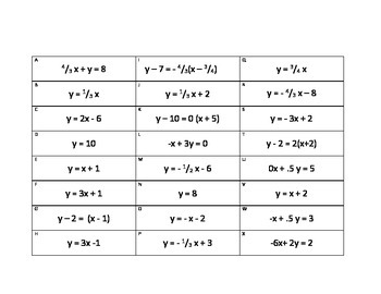 Matching Linear Functions