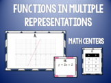 Matching Linear Functions in Multiple Representations Task