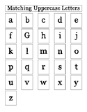 Matching Lowercase Letters for Early Learners with Autism