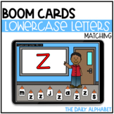 Matching Lowercase Letters BOOM CARDS