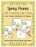 Easter/Spring Phonics - Matching Letters to Sounds