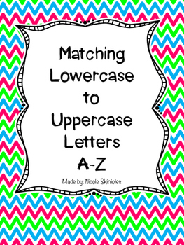 Matching Lowercase to Uppercase Letters