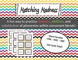 Matching Madness Consonant Blends Game