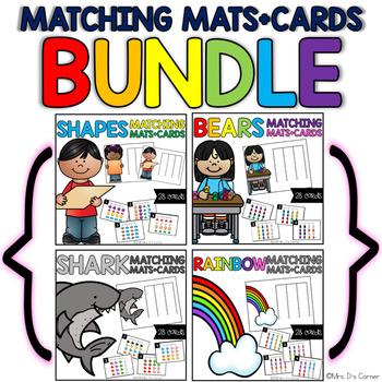 Matching Mats BUNDLE ( 4 Sets Included! )