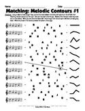 Matching - Melodic Contour 1
