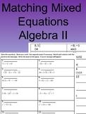 Matching Mixed Equations
