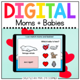 Matching Mom and Baby Animals Digital Activity | Distance