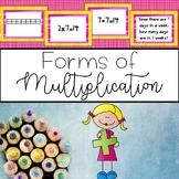 Multiplication Task Cards {Matching Multiple Representations}
