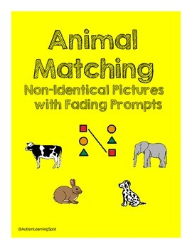 Matching Non-Identical Animals with Fading Prompts
