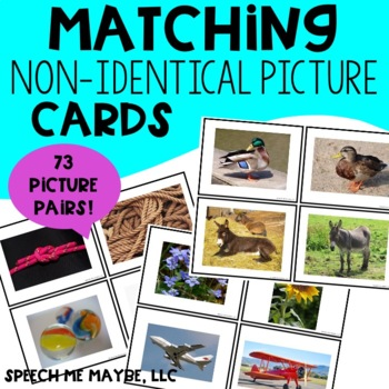 Matching Non-Identical Picture Cards