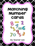 Matching Number Cards