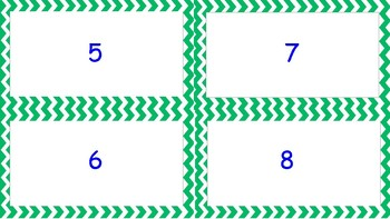 Matching Numbers 1-10