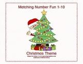 Matching Numbers 1-10 Christmas Theme