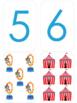 Matching Numbers 1-10 Bingo Games