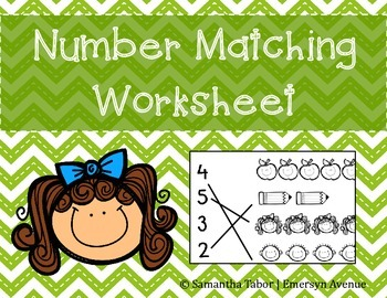 Matching Numbers- Free