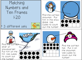 Winter Numbers 1-20 and Ten Frames