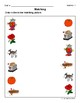 Matching Objects (Long O Words) Activity Sheets