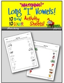 Matching Objects (Long i Words) Activity Sheets