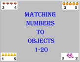Matching Objects to Numbers 0-20