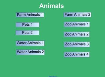 Matching Pairs Animals Activity