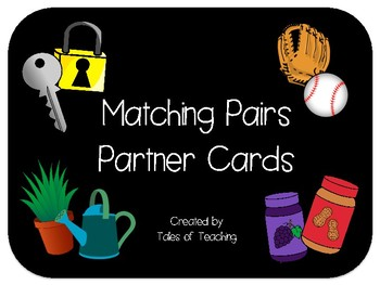 Matching Pairs Partner Cards