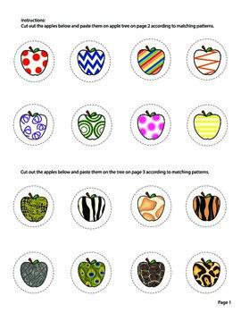 Matching Patterns Activity