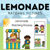 Boom Cards Summer Lemonade Picture Matching