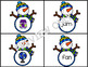 Matching Pictures to CVC Words With Short A Sound  Snowman Theme