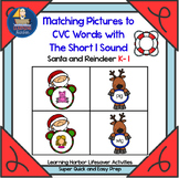 Matching Pictures to CVC Words With The Short I Sound   Life Saver Activity