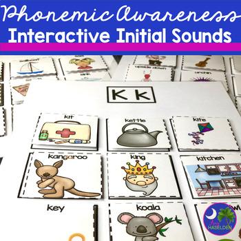 Phonemic Awareness Interactive Initial Sounds