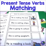 Matching Sentences to Pictures of Present Tense Verb Forms: Early Comprehension